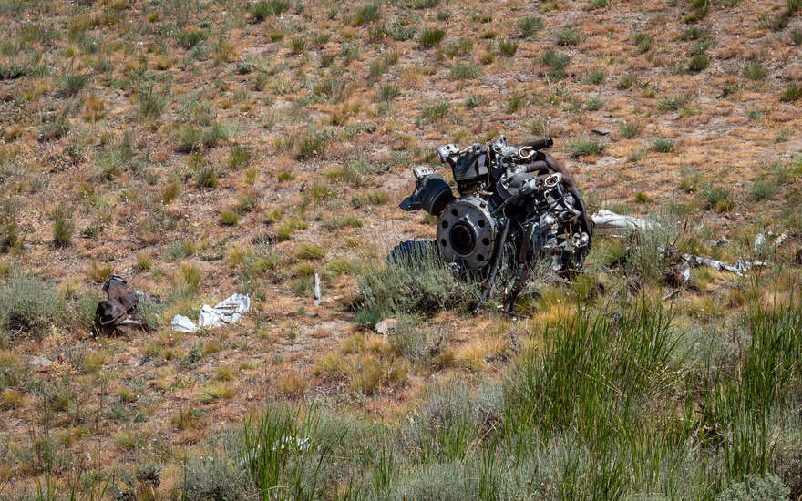 Pueblo Mountains B24D Crash